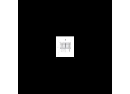 Enkelwandig rookkanaal RVS, trekkende regenkap lamelle, diameter Ø110 - 7478