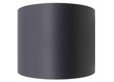 Kachelpijp zwart RVS, Aansluitstuk vrouwelijk-vrouwelijk, diameter Ø150