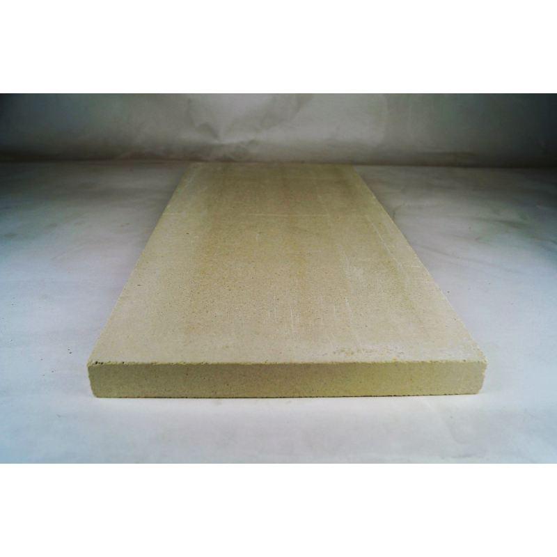 Vuurvaste plaat 500x250x30mm (plat) - 8423