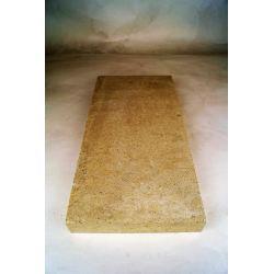 Vuurvaste plaat 500x220x28mm (plat) - 8427