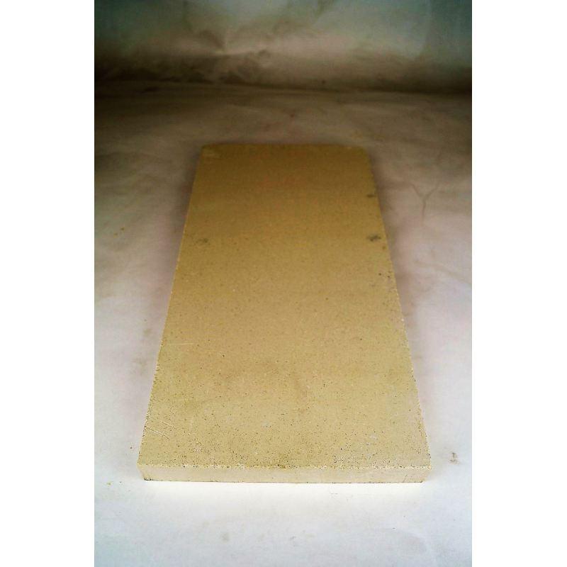 Vuurvaste plaat 400x200x28mm (plat) - 8429