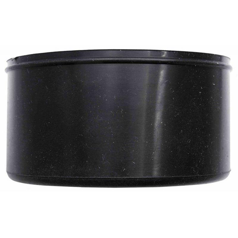 Condensatie cap zwart, diameter Ø80mm.