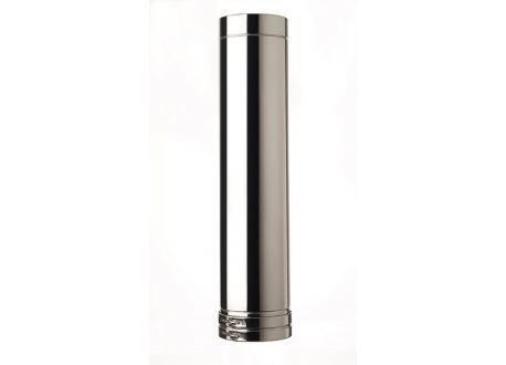 ISODUCT, DUBBELWANDIG ROOKKANAAL RVS, diameter Ø150-220, 1000mm pijp - 9866