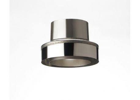 ISODUCT, DUBBELWANDIG ROOKKANAAL RVS, diameter Ø150/220 Topsectie - 9896