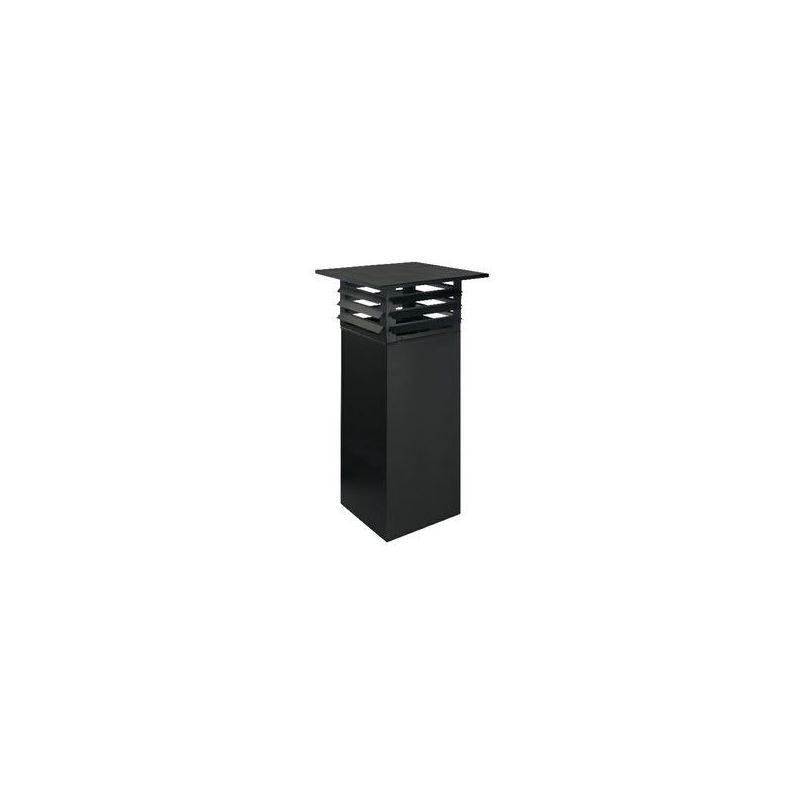 ISODUCT, PREFAB SCHOORSTEENOPZET COMPLEET Ø150 - 9934