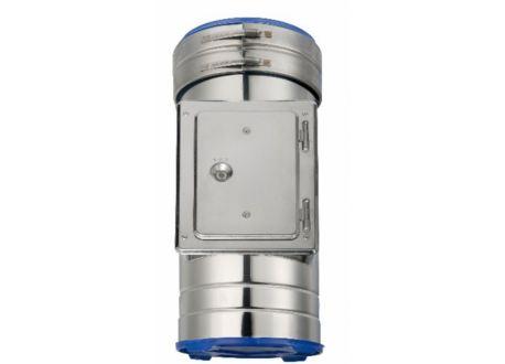 ISODUCT, REINIGINGSSTUK (500mm) Ø150 - 9953