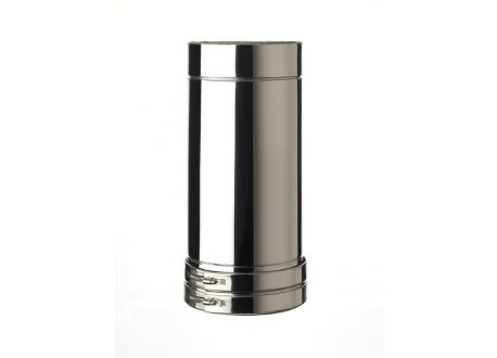 ISODUCT, DUBBELWANDIG ROOKKANAAL RVS, diameter Ø200-270, 500mm pijp - 9954
