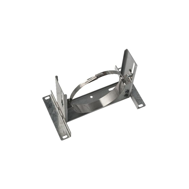 ISODUCT, MUURBEUGEL VERSTELBAAR ZWAAR (10-120mm) Ø200 - 9981